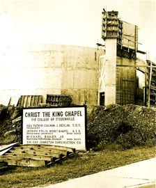 Christ the King under Construction