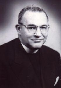 Fr. Egan, Black and white