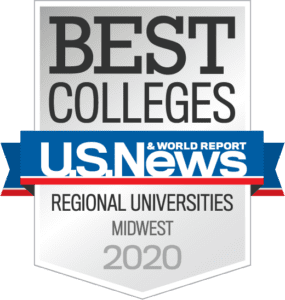US News & World Report Best Colleges, Regional Universities, Midwest, Badge