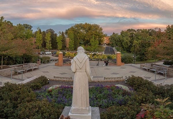 St.-Francis-Statue-and-campus-6x4