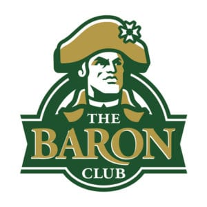 Baron club logo banner