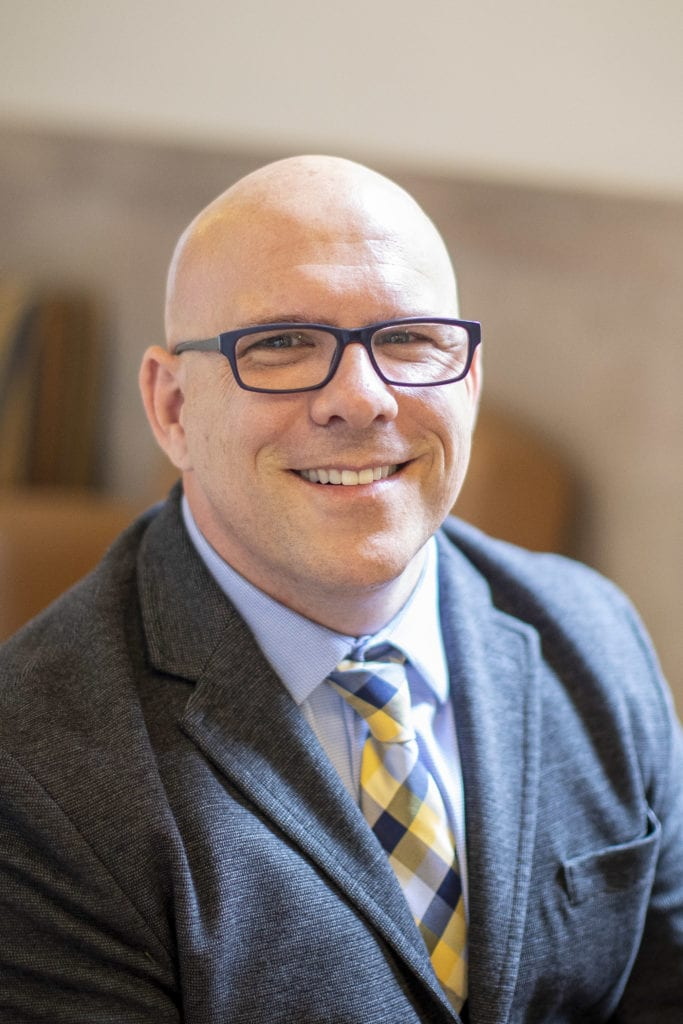 Dr. Daniel Dentino, vice president of Student Life at Franciscan University of Steubenville.