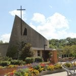 front of Christ the king chapel