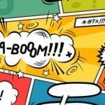 kaboom comic exclamation