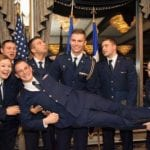 Air force ROTC Students