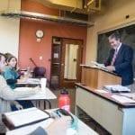 Dr. Hahn in class