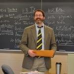 Jim Cavin in class